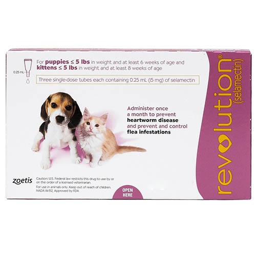 Revolution For Kittens / Puppies (Pink) 3 Doses