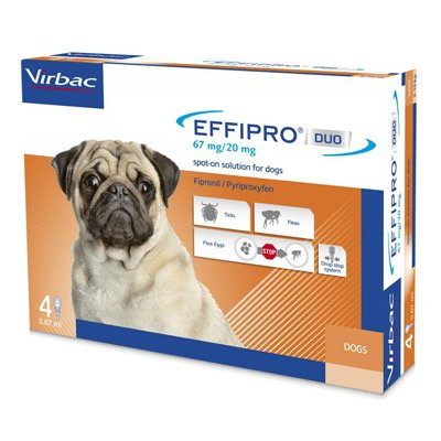 Effipro DUO Flea and Tick Spot-On