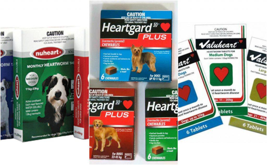 Heartgard Plus, Nuheart, Valuheart