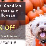 candies mix of halloween is dangerous for pets