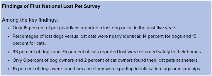 Findings-of-First-National-Lost-Pet-Survey