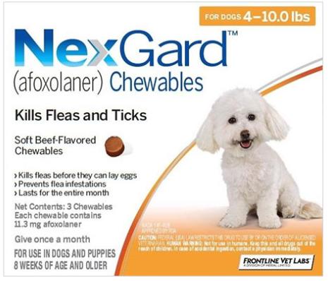 NexGard Chewable for Dogs