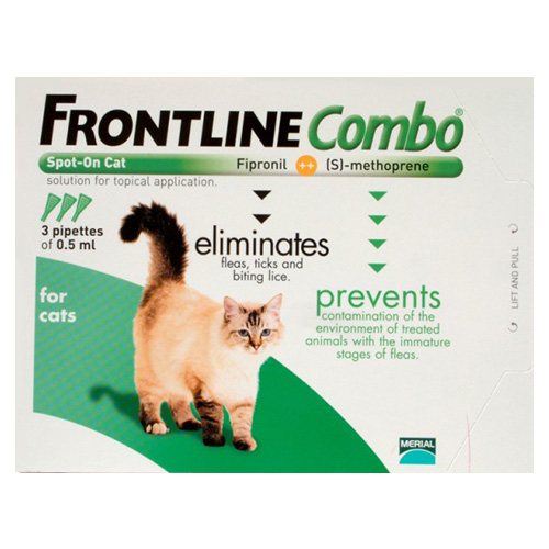 advantage cat flea treatment instructions