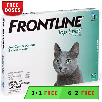 Frontline Top Spot for Cats (Green)