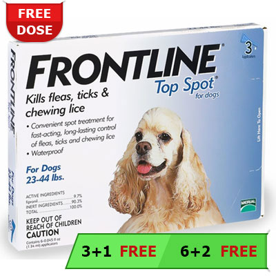 Frontline Top Spot For Dogs Buy Frontline Top Spot Flea