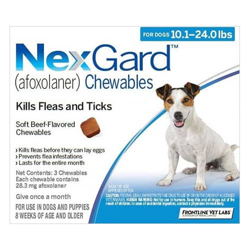 Nexgard-blue-flea-chewable-for-dogs