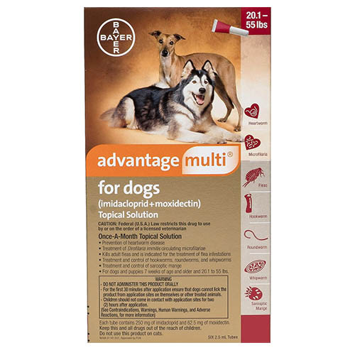 Advantage Multi For Extra Large Dogs