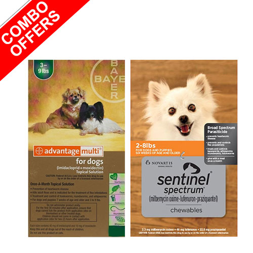 Advantage Multi & Sentinel Spectrum Combo Pack