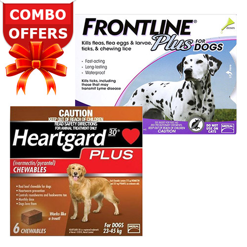 Frontline Plus & Heartgard Plus Combo Pack