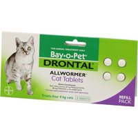Drontal for Cats upto 4Kg