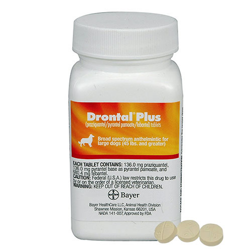 Drontal for Large Dogs 10 - 35 kg