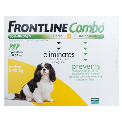 Frontline Combo For Dogs Frontline Combo Spot On Flea