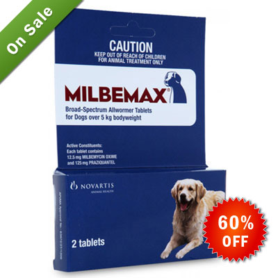 Milbemax For Dogs Buy Milbemax Chewable Worming Tablets