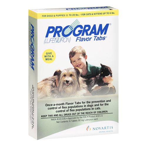 Program Tablets For Dogs 5.2 - 14.7 lbs (Red)