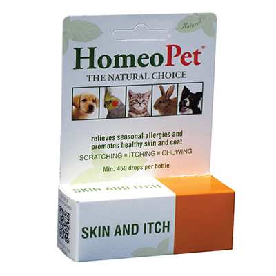 HomeoPet Skin and Itch Relief for Dogs & Cats