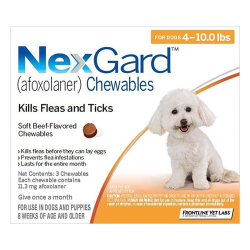 Nexgard For Dogs Buy Nexgard Flea Tick Chewable For Dogs Online