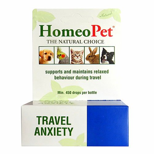 Travel Anxiety for Dogs & Cats
