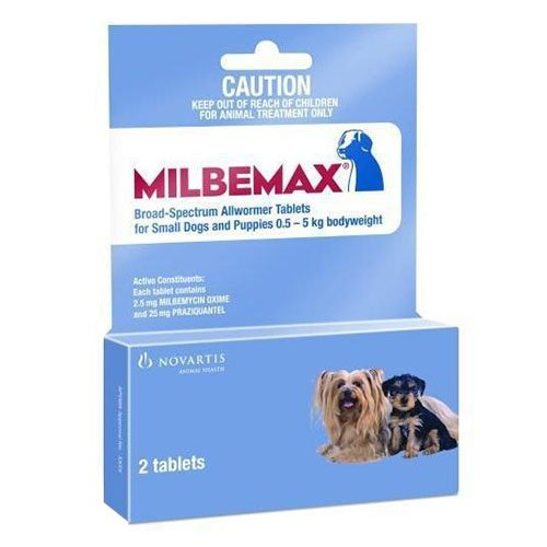 Milbemax Small Dog Dose