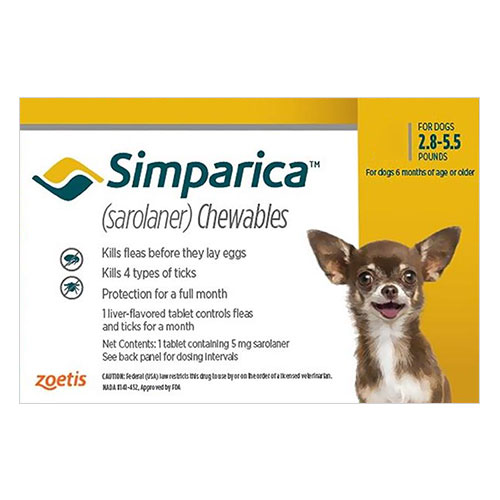 Simparica Chewable Tablet